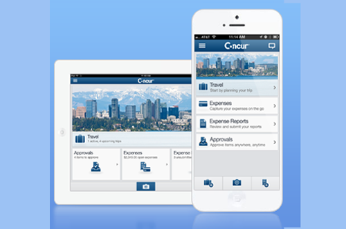 Concur booking solutions